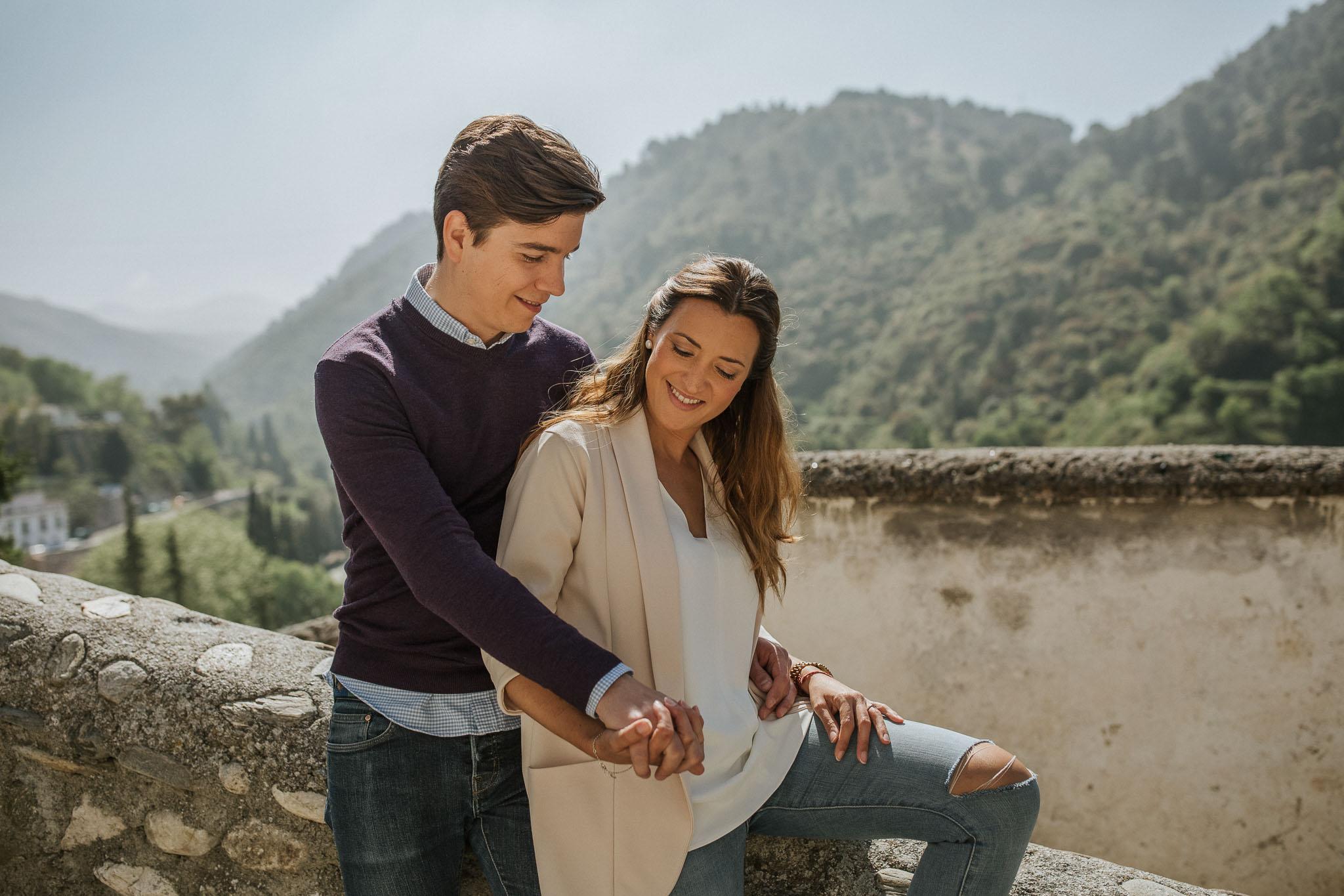 Preboda en la Alhambra