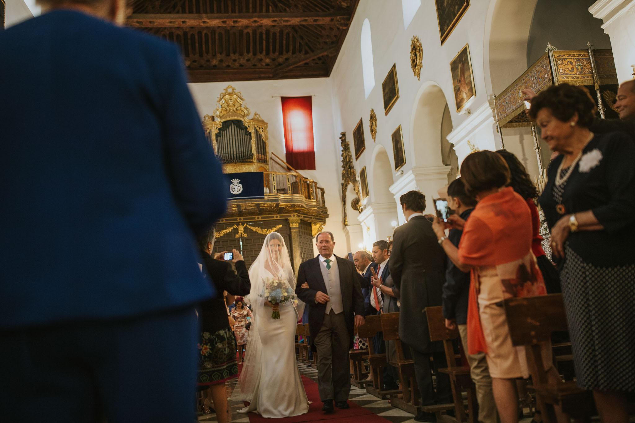 boda en el palacio de los Córdova